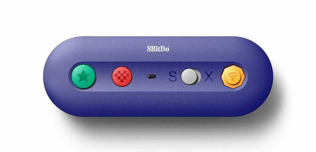 Adaptateur sans fil pour manette GameCube et Wii (pour Nintendo Switch)