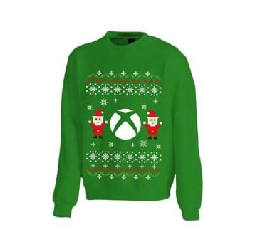 Pull de Noël Microsoft Xbox