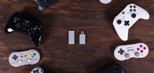 L'adaptateur 8bitdo pour Switch (couleur brique) sera mis à jour pour la PS Classic !