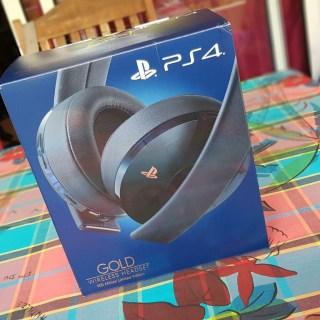 Casque Playstation GOLD sans fil