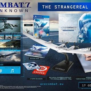 Le collector de Ace Combat 7, dans son édition collector !