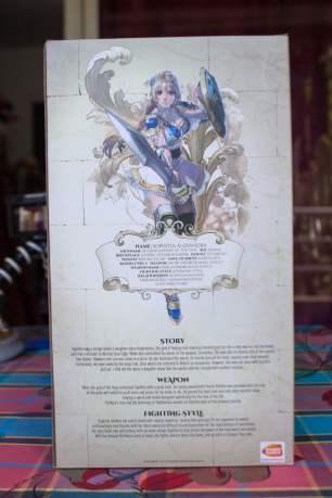 Boite du collector de SoulCalibur VI
