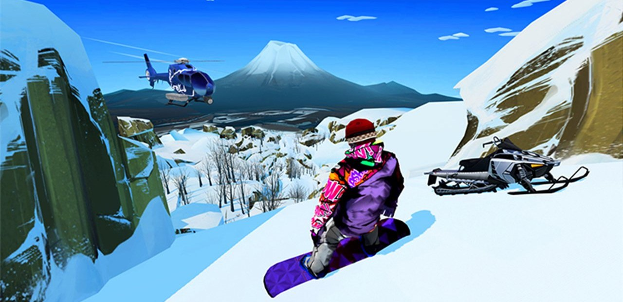 Snowboarding The Next Phase propose des phases (ah ah) de jeu plutôt sympas !