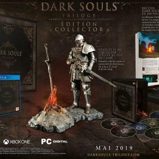 L'édition collector de Dark Souls Trilogy devrait faire parler d'elle... Pour son prix !