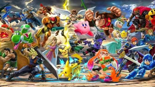 Super Smash Bros Ultimate est le 3ème jeu le plus vendu sur Nintendo Switch !