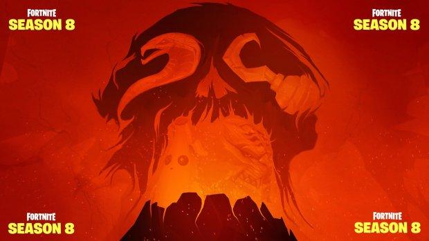 Les 4 images de teasing de Fortnite Saison 8 forment un volcan !