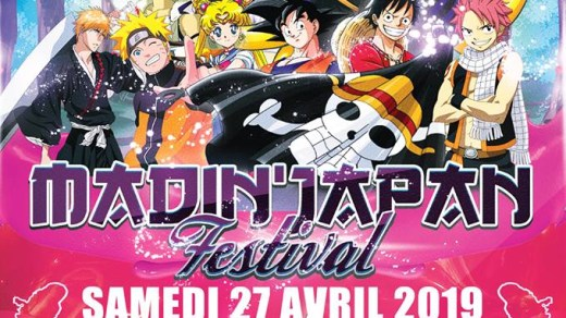 Le salon Madin'Japan Festival, à Madiana le 27 avril 2019 !