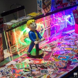 Crash Games avait exposé ses plus beaux goodies de jeux vidéo, pour le bonheur des gamers !
