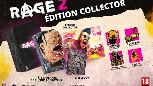 Rage 2 dans son édition collector