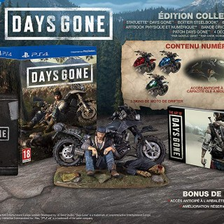 Le collector de Days Gone est de retour chez Amazon, à 149€99 !