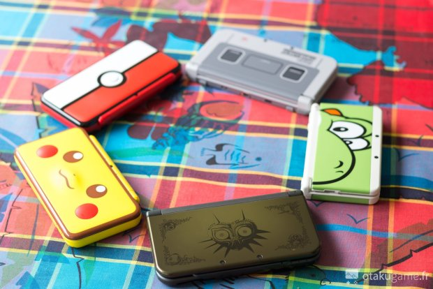 Ma petite collection de new 3DS et new 2DS XL ! Je les adore !
