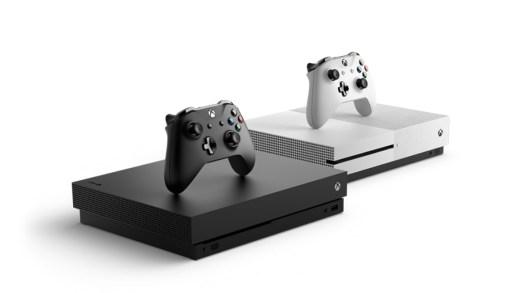 Xbox One X et Xbox One S