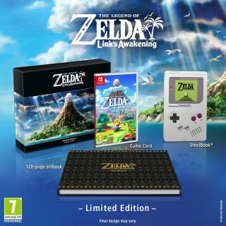 Edition collector de Link's Awakening sur Nintendo Switch !