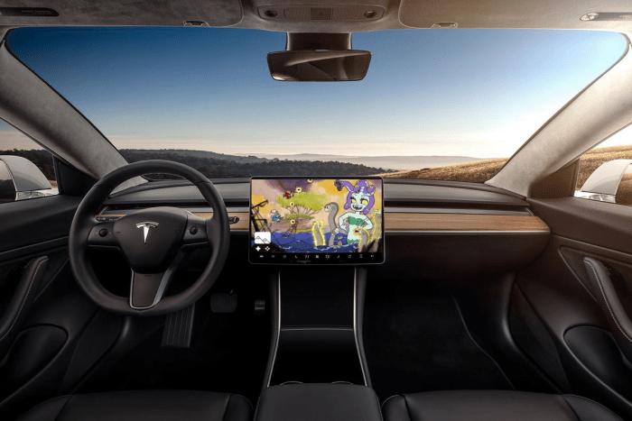 Cuphead dans une Tesla ? Ca pourrait ressembler à ça !