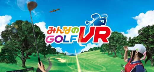 Everybody's Golf VR s'appelle en japonais みんなのGOLF VR