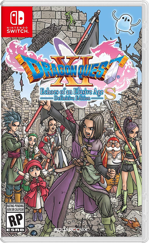 Jaquette Dragon Quest XI