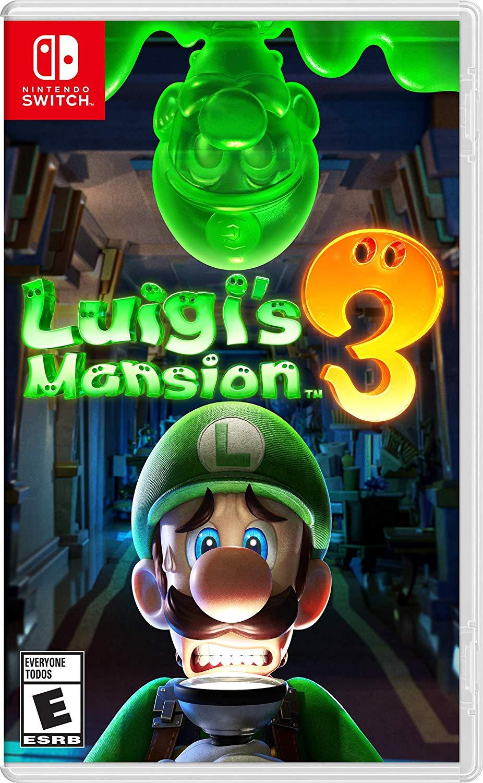 Jaquette Luigi's Mansion 3