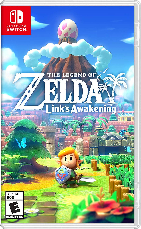 Jaquette The Legend of Zelda : Link's Awakening