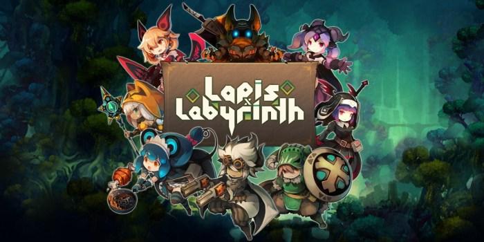Lapis x Labyrinth est également sur Nintendo Switch !