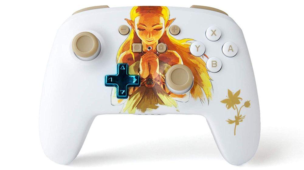 Manette Princesse Zelda Power A pour Nintendo Switch