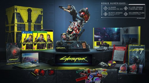 Collector Cyberpunk 2077