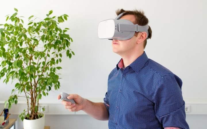 L'Oculuis Go, un casque VR autonome et bon marché.