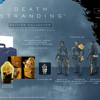 Death Stranding collector