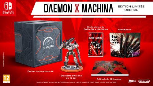 L'édition limitée orbital de Daemon x Machina