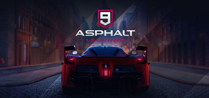 Asphalt 9 Legends sur Nintendo Switch