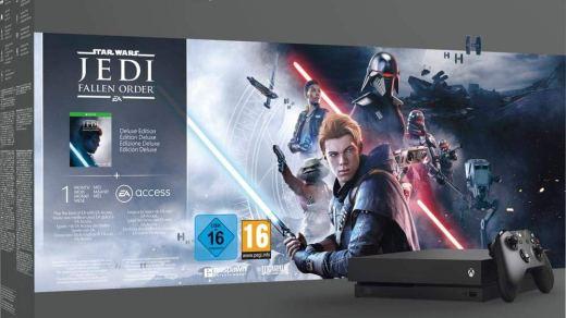 Black Friday Xbox One X Star Wars Jedi