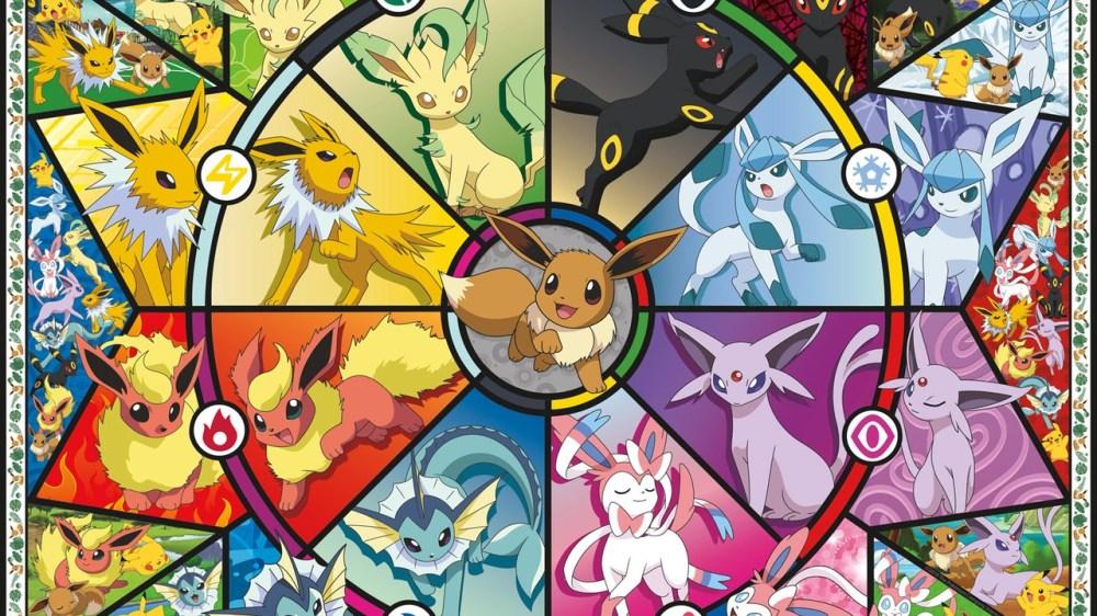 Toutes les évolutions d'Evoli dans Pokémon Epee et Bouclier