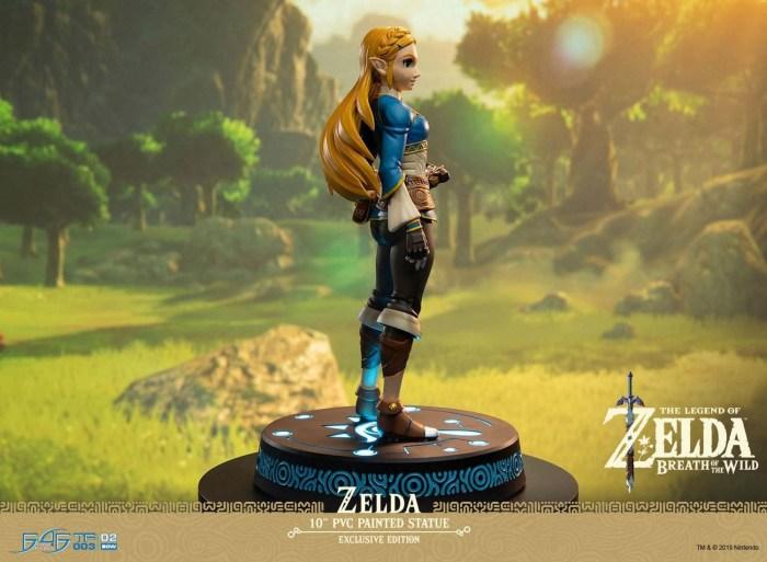 Figurine Zelda de Breath of the Wild Collector (avec LED)