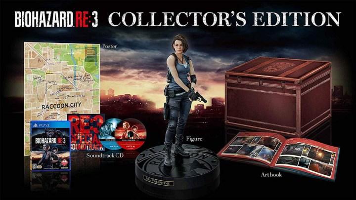 L'édition collector européenne de Resident Evil 3 Remake