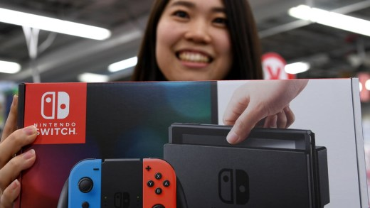 La Nintendo Switch au Japon !