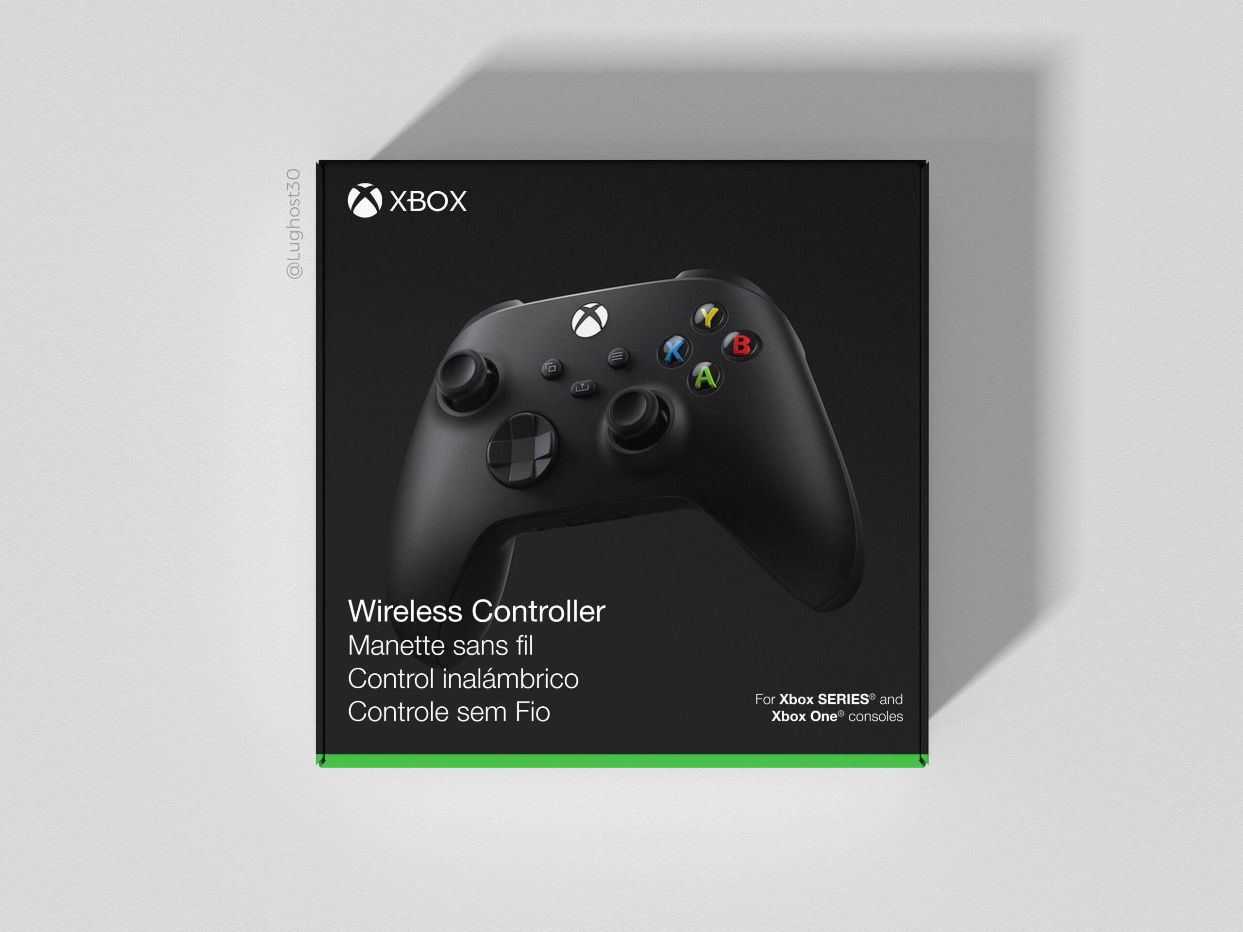 Boite de la Manette Xbox Series