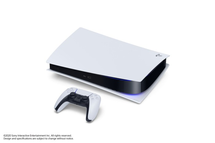 PS5 Digital Edition couchée