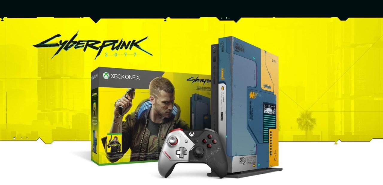 Xbox One X Cyberpunk 2077