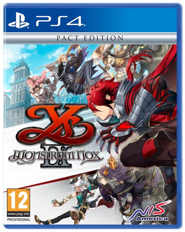 Pochette de YS IX sur PS4