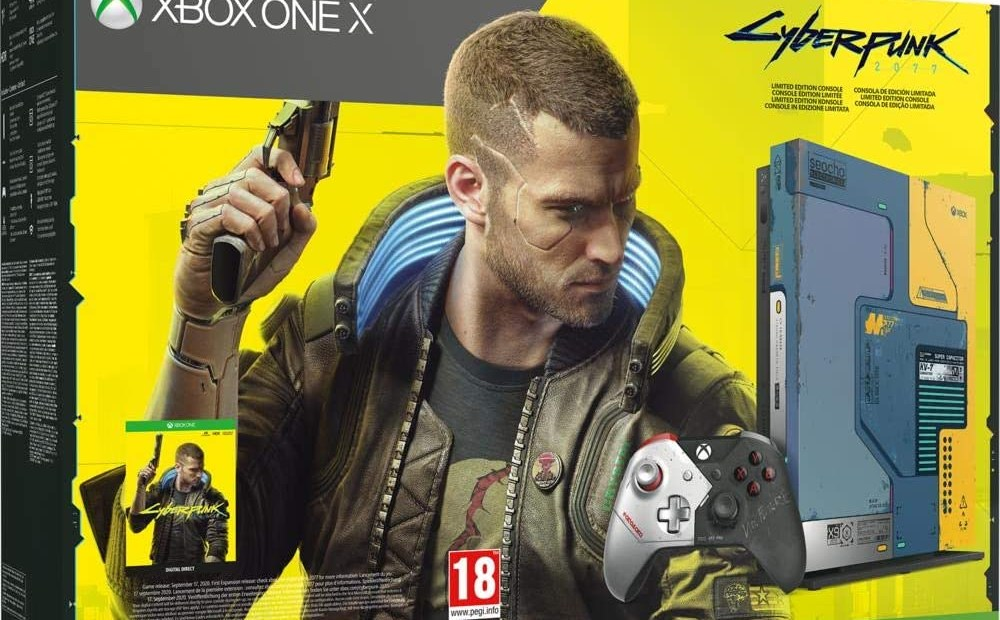 Xbox One X Edition Collector Cyberpunk 2077