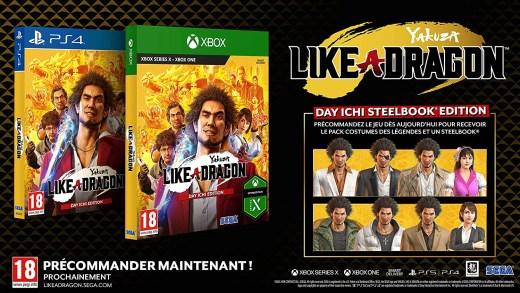 Yakuza Like a Dragon sur PS4 / Xbox One
