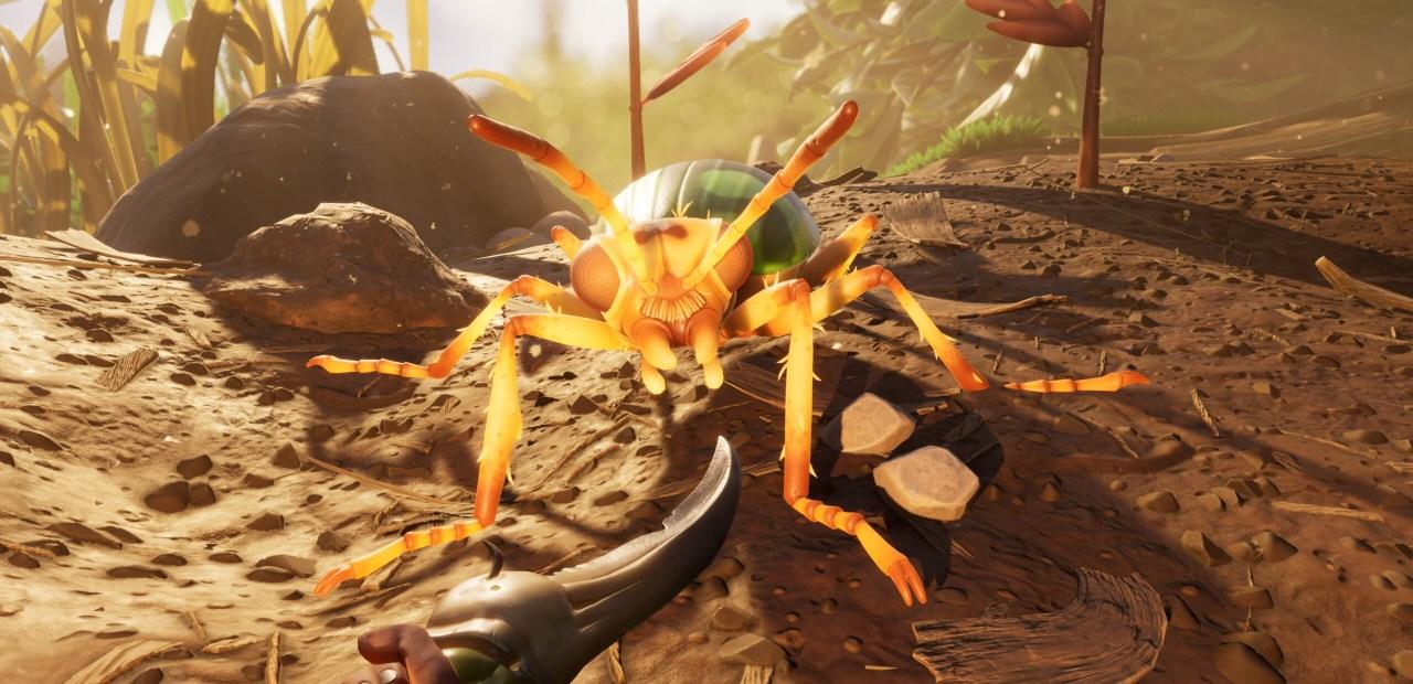 Une fourmi (cro-onde) dans Grounded