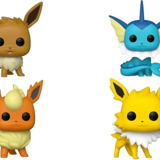 Figurines Funko POP Evoli, Aquali, Pyroli et Voltali (Pokémon)