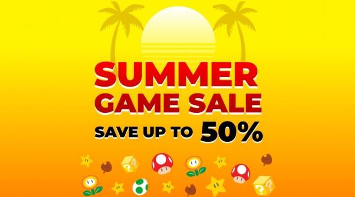 Promotions de l'été sur Nintendo Switch
