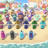 Les kimonos dans Animal Crossing