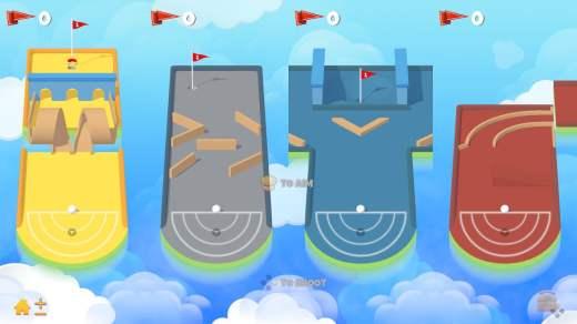 Un jeu de mini golf pour votre Nintendo Switch !