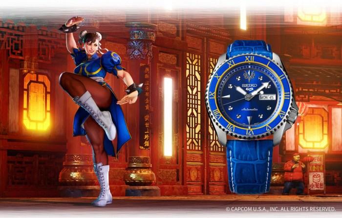 La montre Seiko Chun-Li