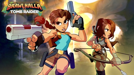 Lara Croft sur Brawlhalla