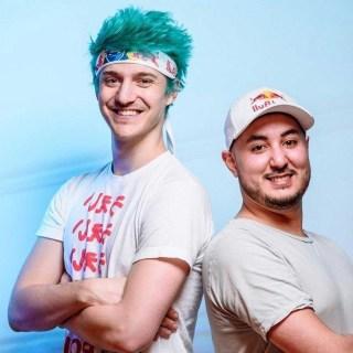Gotaga (à droite) avec Ninja (à gauche)