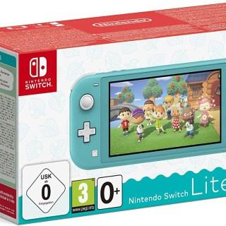 Promotion Nintendo Switch Lite + Animal Crossing