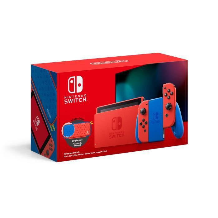 Nintendo Switch édition limitée Mario